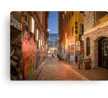 Movida Night View Canvas Print