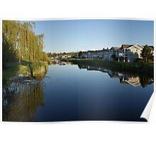 Craig Bay - Pond on Saturna - Parksville, BC  Poster
