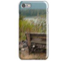 a respite at the river iPhone Case/Skin