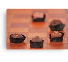 Chocolate Chess Canvas Print