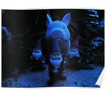 Gnomes and the Hostage Pig. Poster
