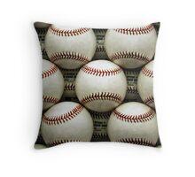 Baseballs Throw Pillow