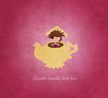 Alice in Wonderland inspired design (Dormouse). by topshelf