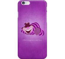 Alice in Wonderland inspired design (Cheshire Cat). iPhone Case/Skin
