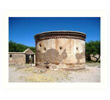 Tumacacori Mortuary Chapel and Cemetery Art Print