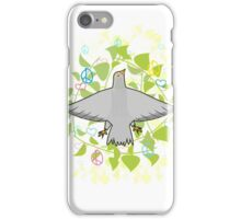 Peace pigeon iPhone Case/Skin
