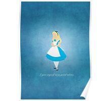 Alice in Wonderland inspired design (Alice). Poster