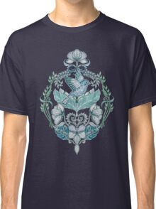 Not Even a Sparrow - hand drawn vintage bird illustration pattern Classic T-Shirt