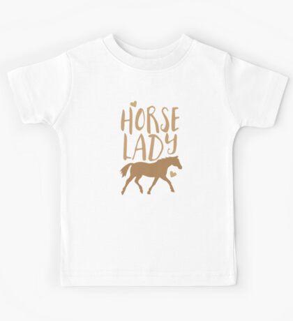 Horse Lady Kids Tee