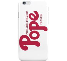 Pope Phillies Logo Mash Up iPhone Case/Skin
