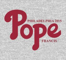 Pope Phillies Logo Mash Up Kids Clothes