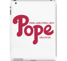 Pope Phillies Logo Mash Up iPad Case/Skin