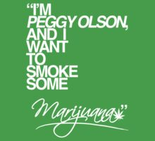 Mad Men - Peggy Olson's Pot (Green) by FranSanstead