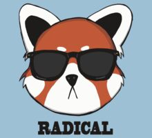 Radical Red Panda by theultimatebun