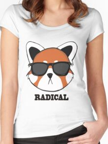 Radical Red Panda Women's Fitted Scoop T-Shirt
