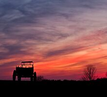 Spectacular Wagon Hill Sunset by Ron Risman
