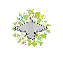 Peace Pigeon Photographic Print