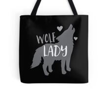 Wolf Lady Tote Bag
