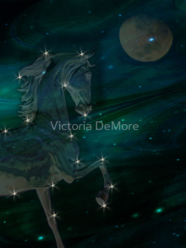Celestial Steed by Victoria DeMore