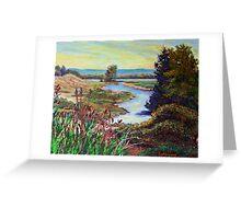 Oak Island Road Greeting Card