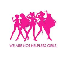 We Are Not Helpless Girls (Sailor Moon) by nicholasgray