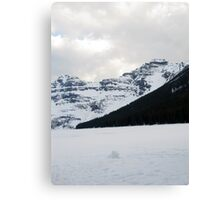 Lake of Ice Canvas Print