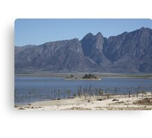 Theewaterskloof Lake, South Africa Canvas Print