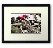 This Is Parkour Framed Print