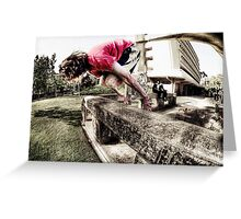This Is Parkour Greeting Card