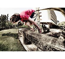 This Is Parkour Photographic Print