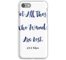 J.R.R. Tolkien quote iPhone Case/Skin