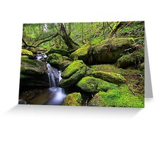 """Mossy Creek"" Greeting Card"