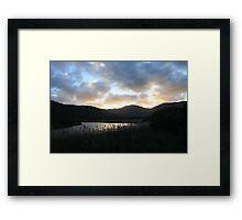Dawn in Tidal River Framed Print