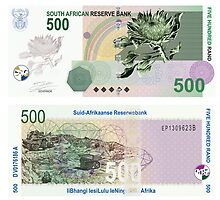 Competition: Banknote design South Africa by Liana Marnewick