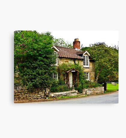 Country Cottage - Lastingham Canvas Print