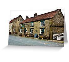 The Moors Inn  -  Appleton-le-Moors  Greeting Card
