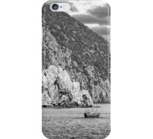 Travel between the rocks iPhone Case/Skin