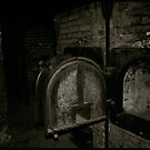 Auschwitz I Crematoria by Peter Harpley
