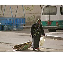 Poverty in Jeddah. Photographic Print