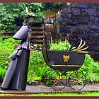 Victorian Parambulator featured in &quot;Garden Sculptures &amp; Ornaments&quot; by The Creative Minds