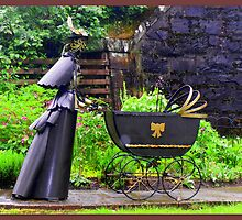 """Victorian Parambulator featured in """"Garden Sculptures & Ornaments"""" by ©The Creative  Minds"""