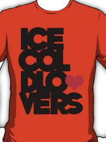 Ice Cold Big Letters T-Shirt