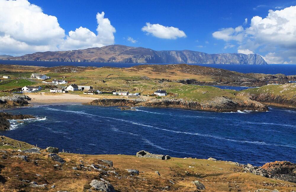 Doagh. Rosguill  Peninsula. Co.  Donegal. Ireland by EUNAN SWEENEY