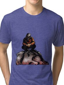 SIC SEMPER TYRANNIS Tri-blend T-Shirt