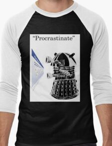 Facebook Procrastinator Men's Baseball ¾ T-Shirt