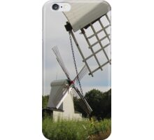 Windmill seen through other windmill iPhone Case/Skin