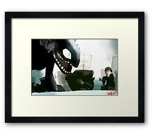 What Have You Done Framed Print