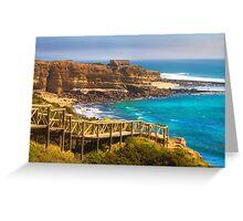 Ericeira  surf  paradise Greeting Card