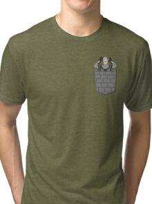 Monty Python French Taunting Guard Tri-blend T-Shirt