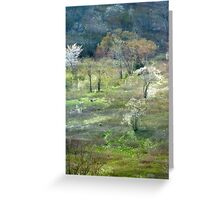 Graveyard Fields Spring Greeting Card
